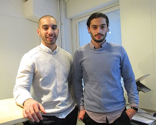 Arian Barakat and Rebin Hosini. Foto: Statistiska institutionen