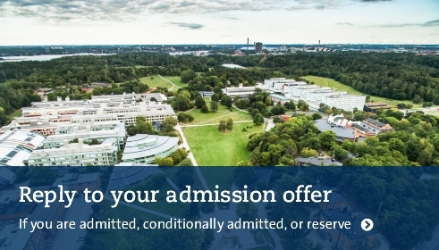 Reply to your admission offer