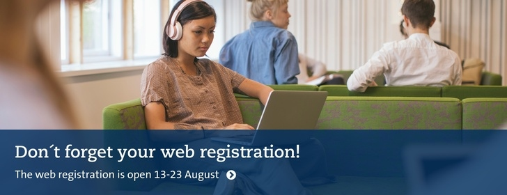 Don't forget web registration